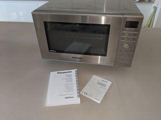 Microondas con horno+grill 27L Panasonic NN-CF771S