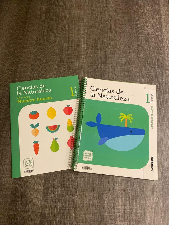 Libro ciencias de la naturaleza 1primaria