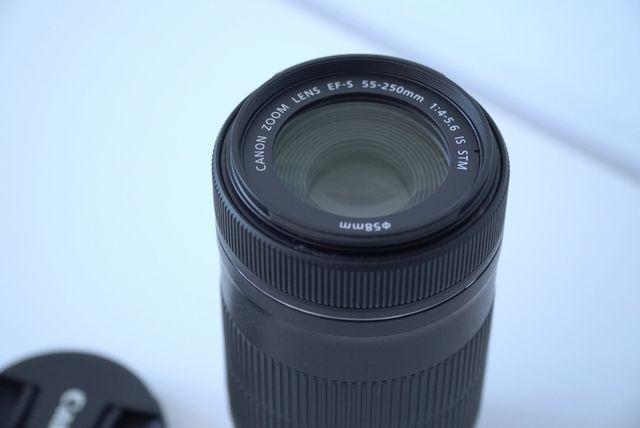 Objetivo Canon 55-250mm STM