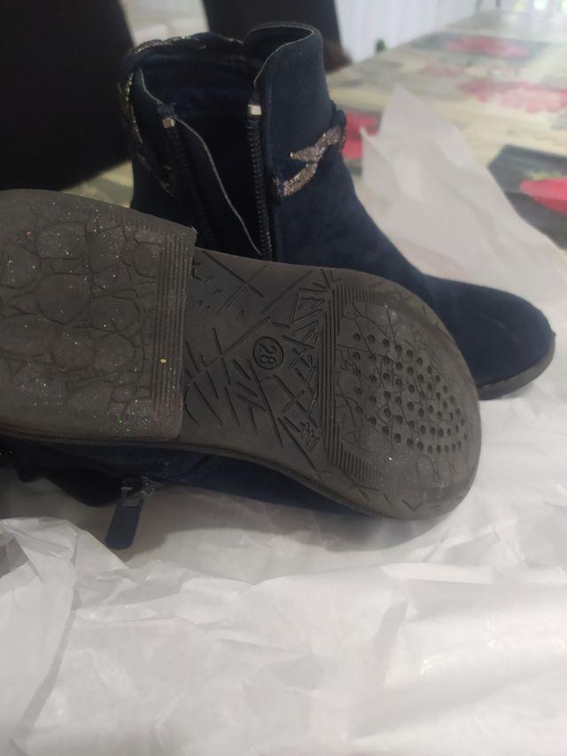 botas de niña