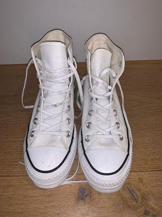Converse blancas originales talla 37.5.