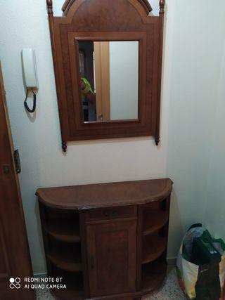 mueble de entrada completa