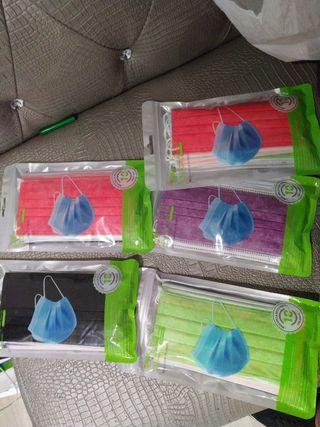 Mascarillas Higiénicas de colorines para usar 24h