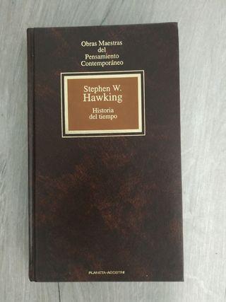 Libro Historia del tiempo de Stephen W. Hawking