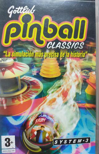 Pinball clásic Psp