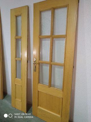 puerta doble de paso