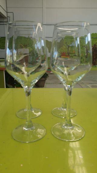 Copas de cristal ideales para vino