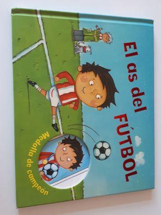 """""""El as del fútbol"""" Medalla de campeón. Es. Parrago"""