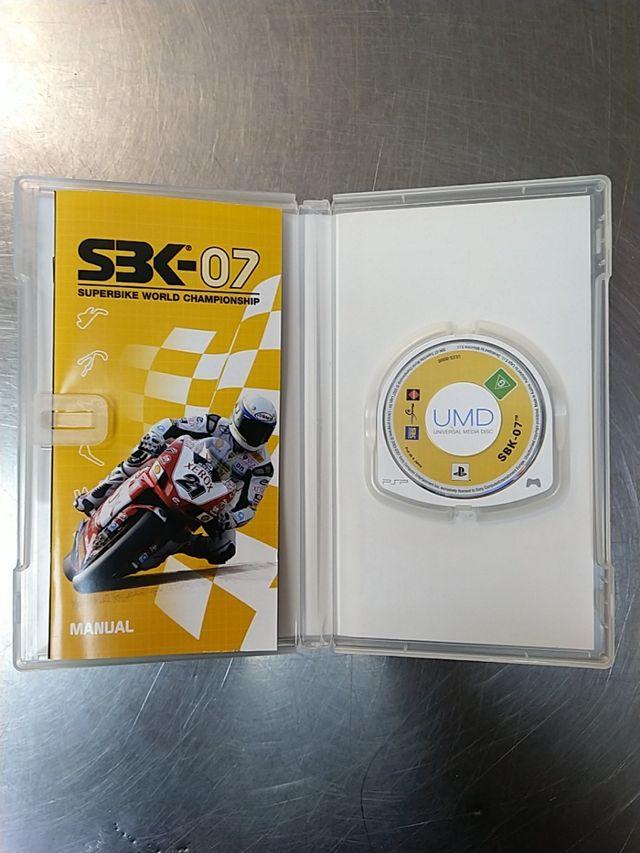 SBK 07, PSP