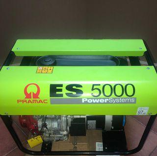 GENERADOR ELECTRICO PRAMAC ES 5000