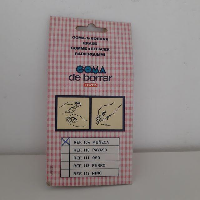 Goma Toypa Años 80 / Toypa / EGB