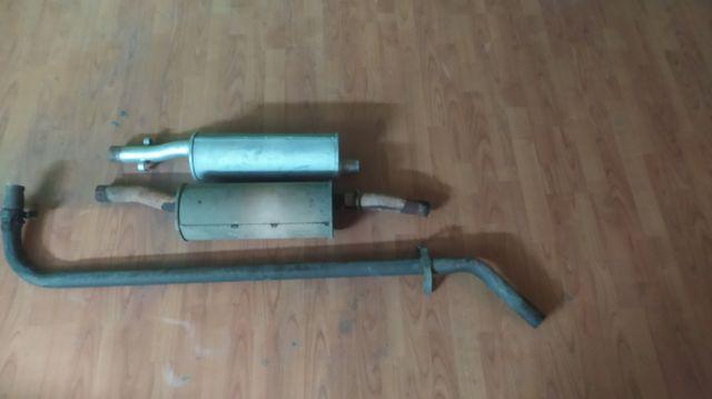 tubo de escape completo para peugeot j5, fiat, et.