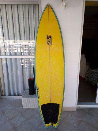 tabla surf tipo fish 6.4