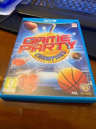 Game Party. Wii U