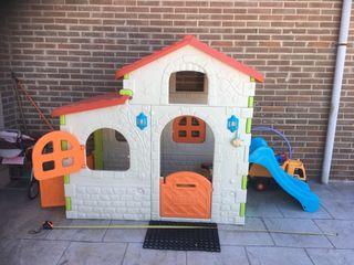 Casa de niños para jardín Feber