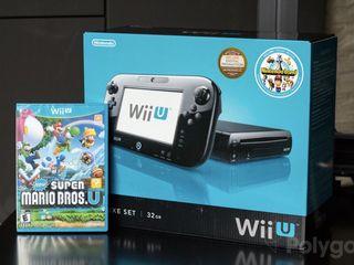 Wii U + Lot de Jeu + 2 contrôles