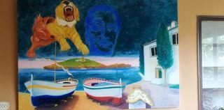cuadro Dalí, Dalí painting interpretación
