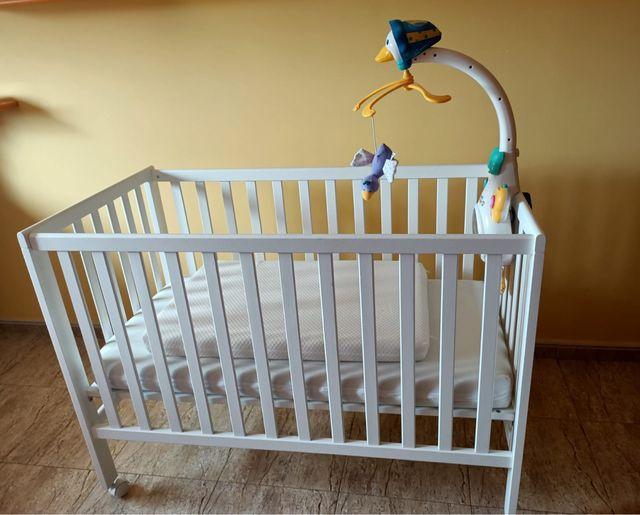 Cuna Bebé + colchon + colchon moises + accesorios
