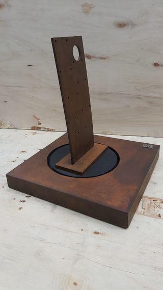 Expositor de joyeria bisutería acero