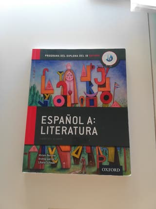 Libro de literatura del Bachillerato Internacional