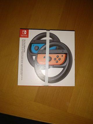 Volantes para Nintendo Switch