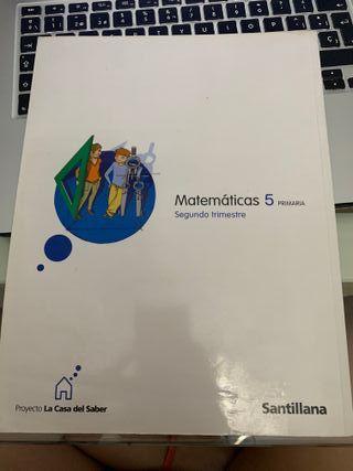 Libro Matematicas 5 primaria Santillana