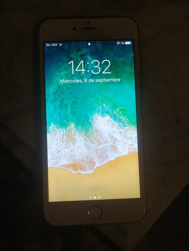 iPhone 6 plus blanco /oro 32gb