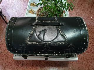 Baúl de cuero custom