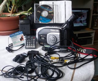 JVC Video cámara vhs