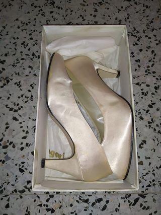 Zapatos de novia T.39