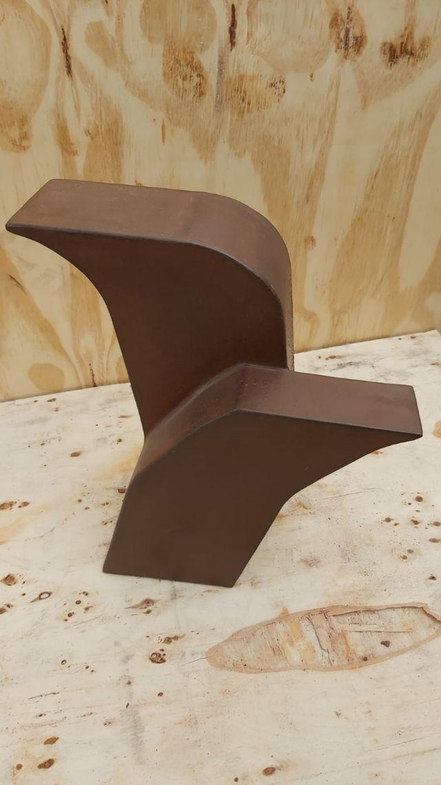 escultura acero