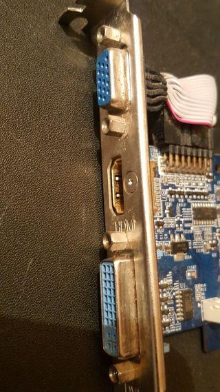 Gigabyte NVidia GF8400 GS 512mb PCIe vga hdmi dvi