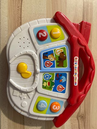 Baby learning house -juguete sonido animales