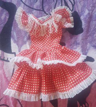 vestido de flamenca de Nancy faralaes gitana
