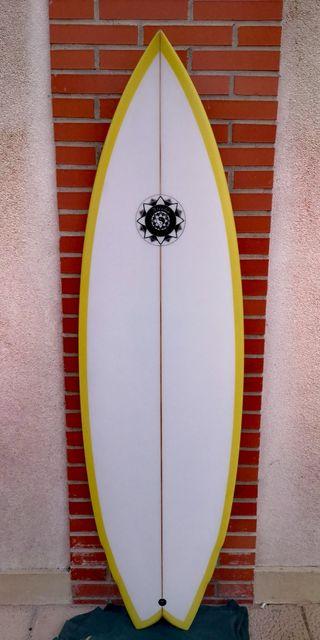 Tabla de surf Atisha quad (4 quillas)