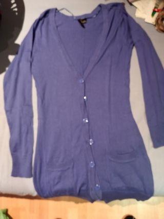 chaqueta larga de manga larga talla 34
