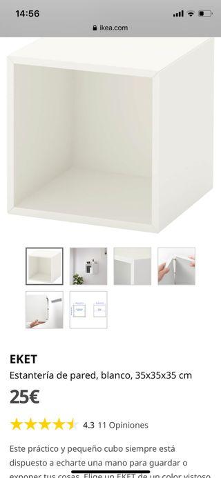Estantería y armario de pared ikea