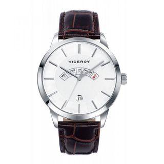 Reloj Viceroy Hombre 471017-07 Piel Marrón