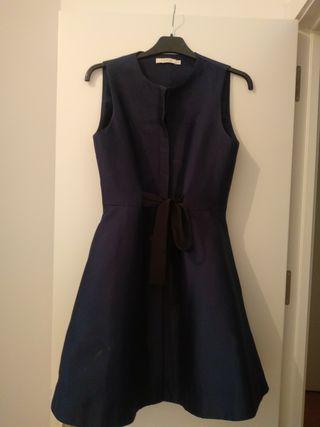 vestido Frnch azul marino nuevo talla M