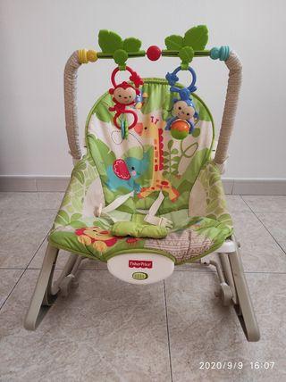 Hamaca/silla/Balancín vibratoria