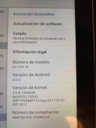 Tablet Samsung Tab 2 de 7 pulgadas