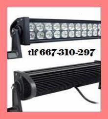 Foco led tipo barra 72w 24 led 6000k