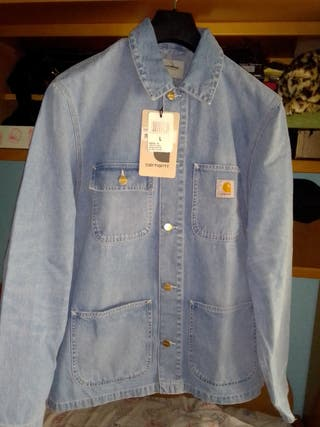 Chaqueta vaquera Carhartt washed denim L