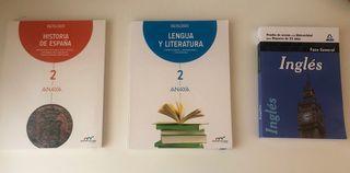 Libros prueba acceso mayores de 25 años.