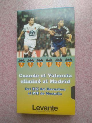 Partido Valencia C.F.- Real Madrid, Copa Rey 1995