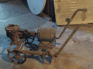 Moto Bomba antigua