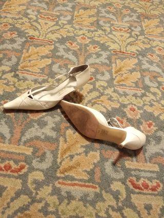 Zapatos de novia de piel