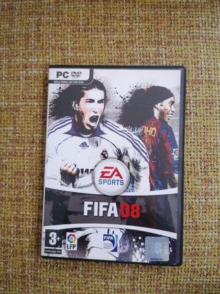 Videojuego Fifa 08 PlayStation 2