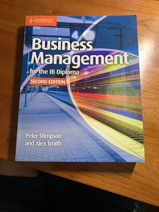 Libro BUSINESS MANAGEMENT for the IB Diploma