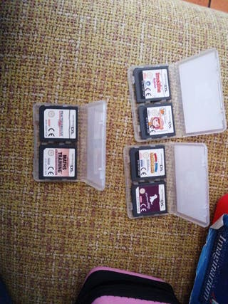 Set 6 juegos Nintendo Ds